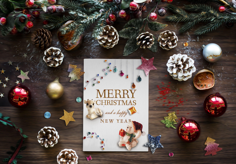496 Christmas Illustrations: Christmas Vectors Bundle SVG, EPS, AI - 2