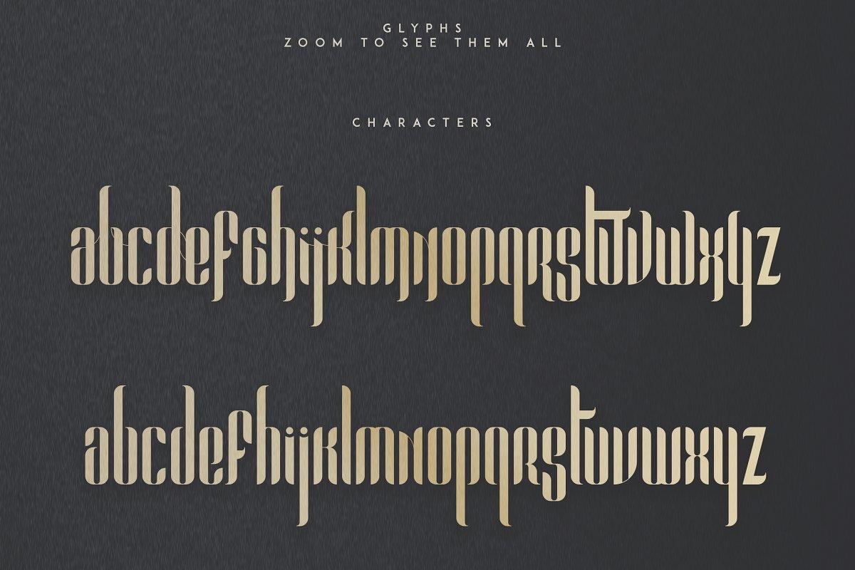 Chronicle Display Font Pandora -50% - 6 2
