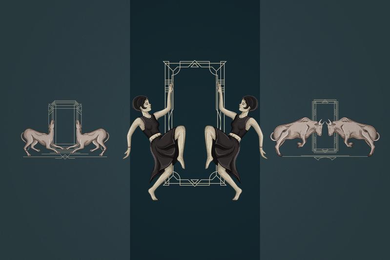 12 Art Deco illustrations - Ai, EPS, PSD - 6 6a43e349 69e0 4c18 92b2 9a568653e163 800x