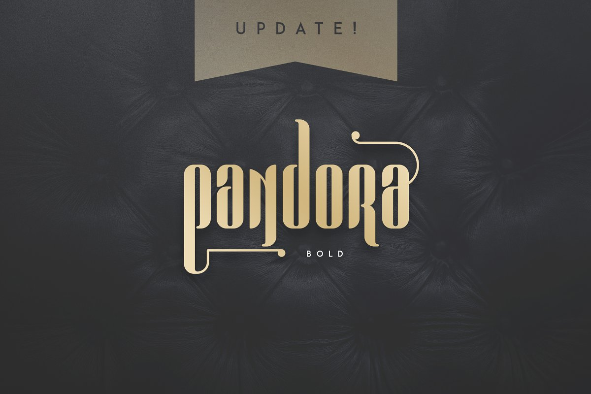Chronicle Display Font Pandora -50% - 6a
