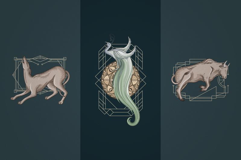 12 Art Deco illustrations - Ai, EPS, PSD - 8 fb441e19 f2fb 4d61 9278 4d037e174d14 800x