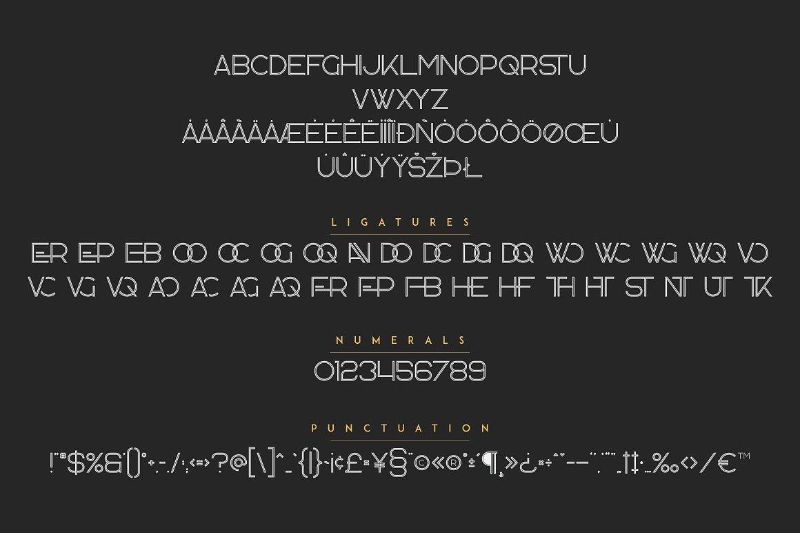 Rocking Logos Bundle: 3 fonts + 6 Logos - 9a