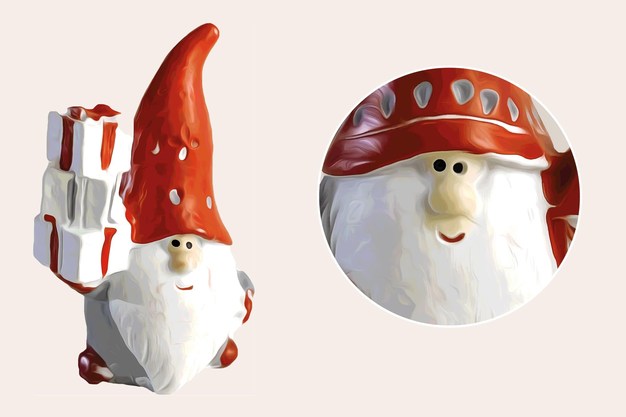 496 Christmas Illustrations: Christmas Vectors Bundle SVG, EPS, AI - Gnomes b
