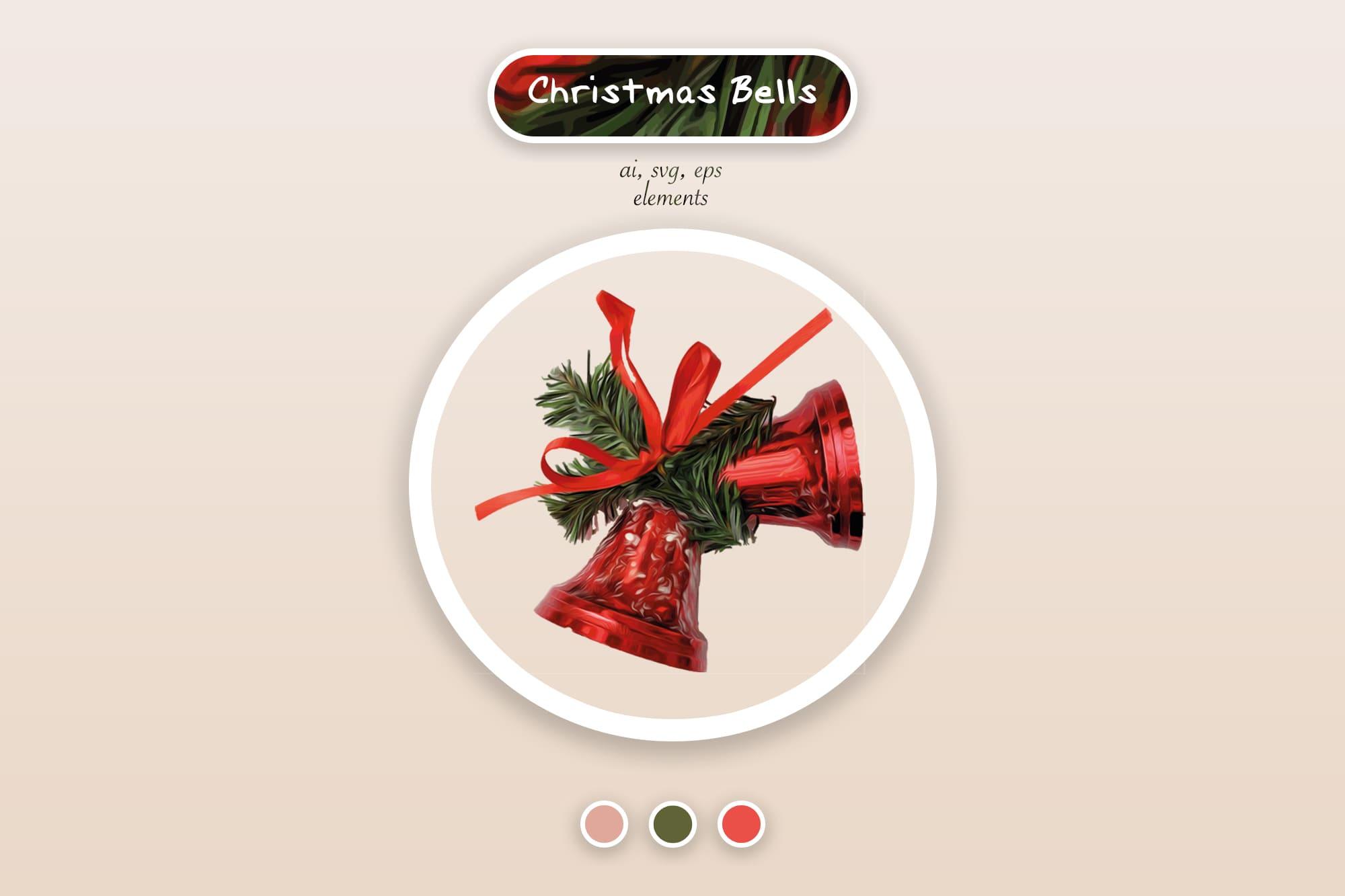 496 Christmas Illustrations: Christmas Vectors Bundle SVG, EPS, AI - Merry Christmas 2a