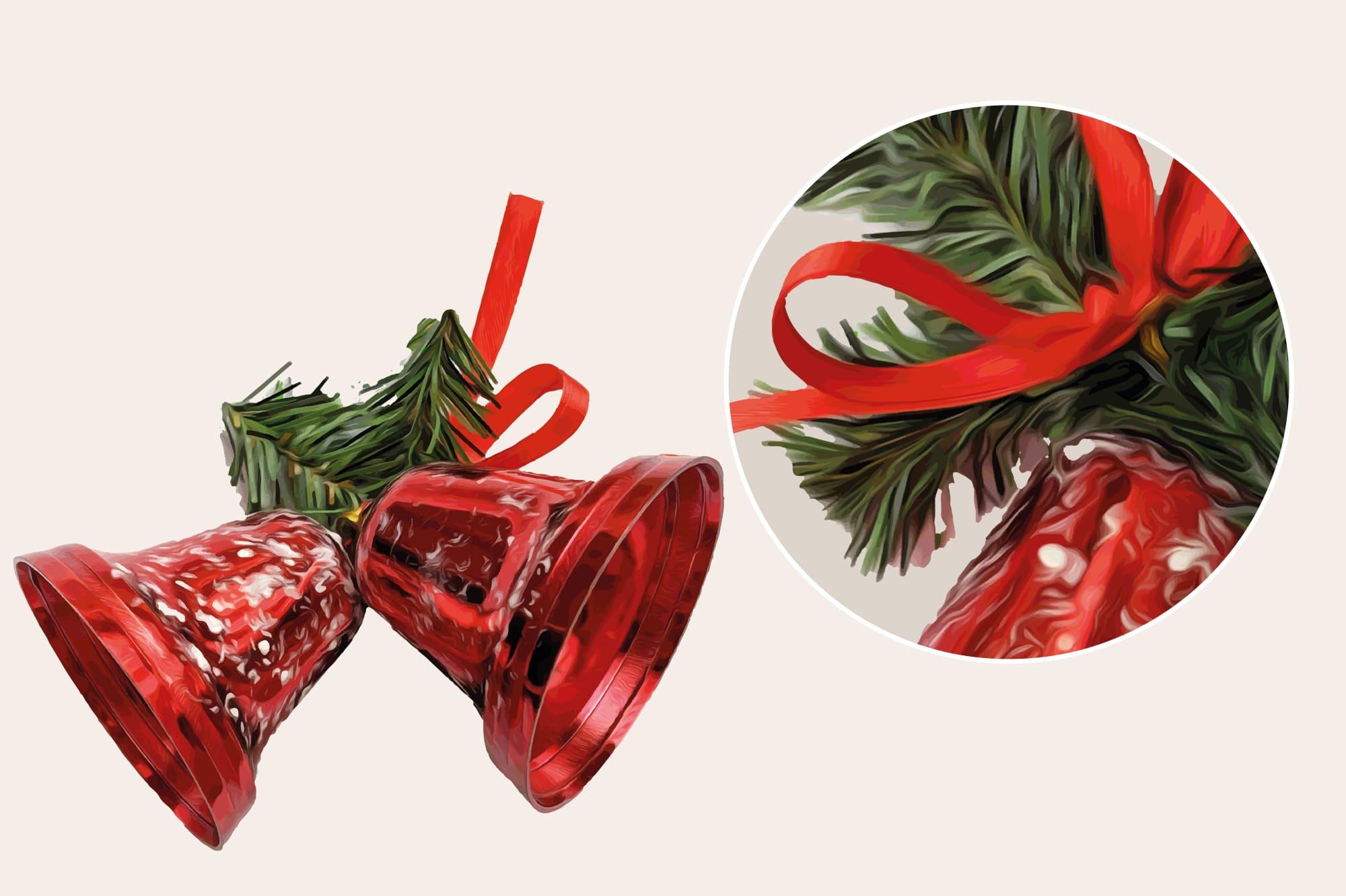 496 Christmas Illustrations: Christmas Vectors Bundle SVG, EPS, AI - Merry Christmas 2b