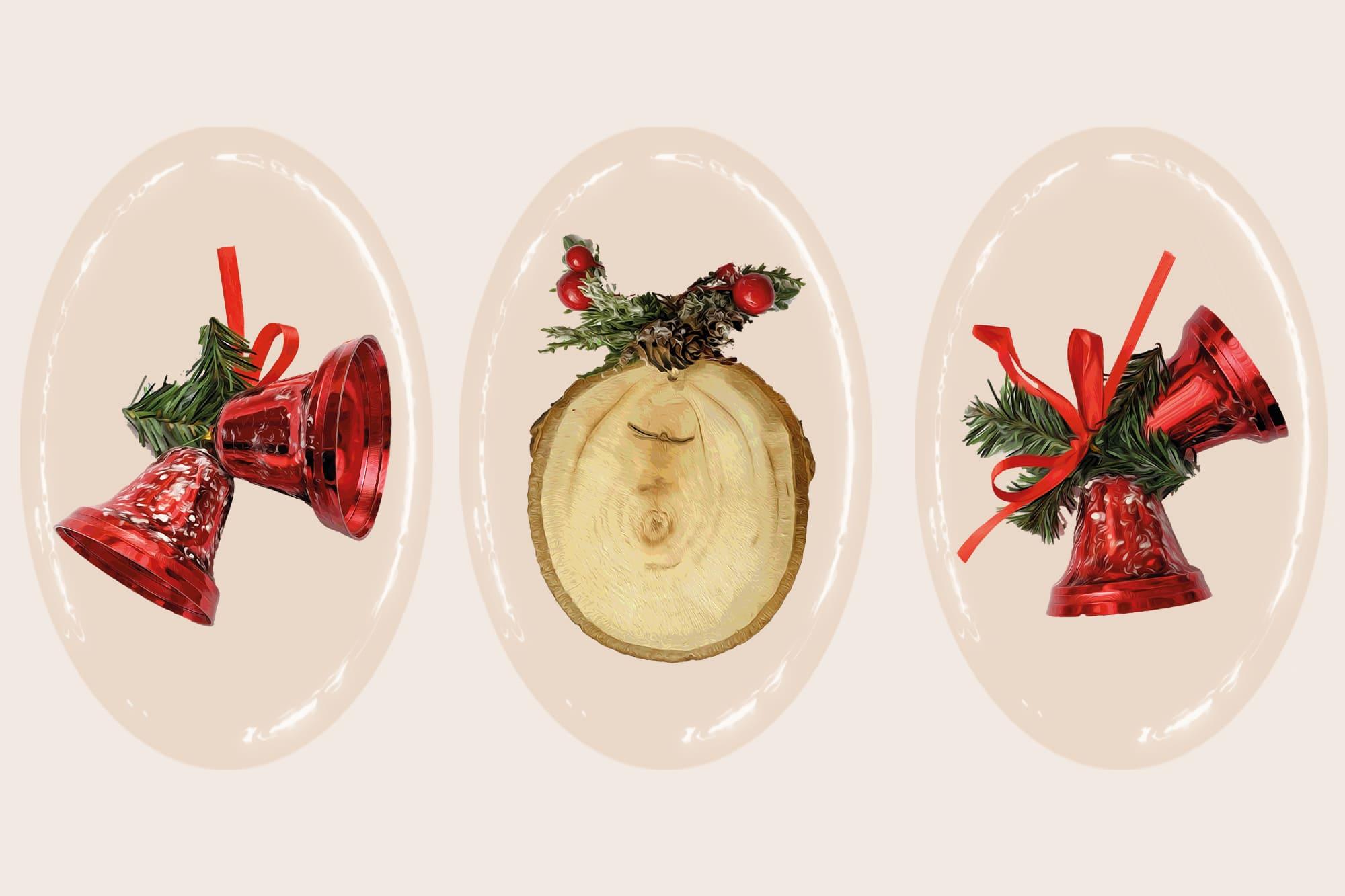 496 Christmas Illustrations: Christmas Vectors Bundle SVG, EPS, AI - Merry Christmas 2c