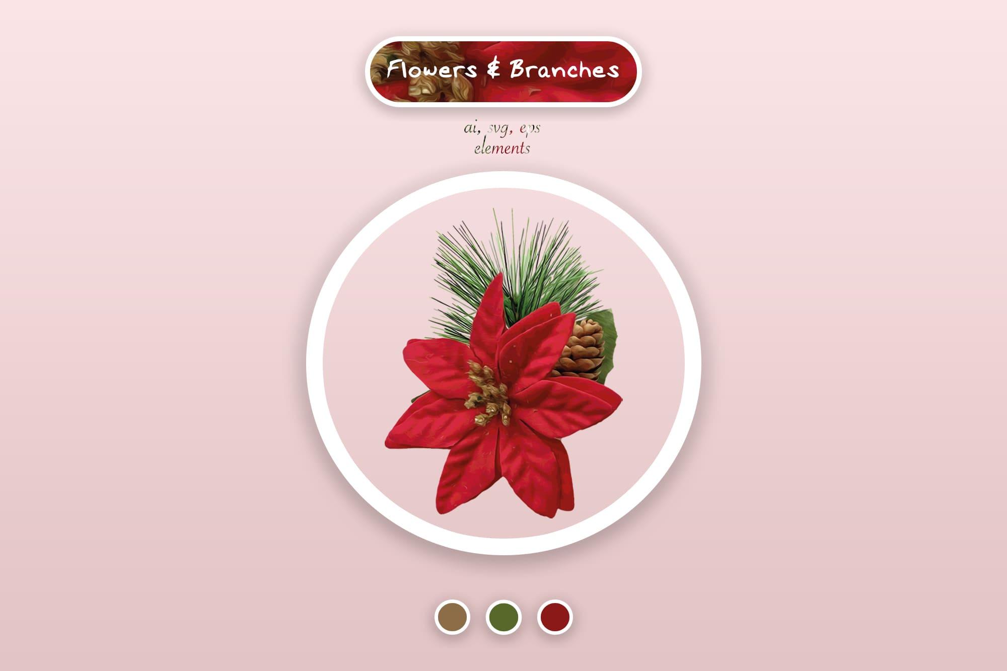 496 Christmas Illustrations: Christmas Vectors Bundle SVG, EPS, AI - Merry Christmas 3a