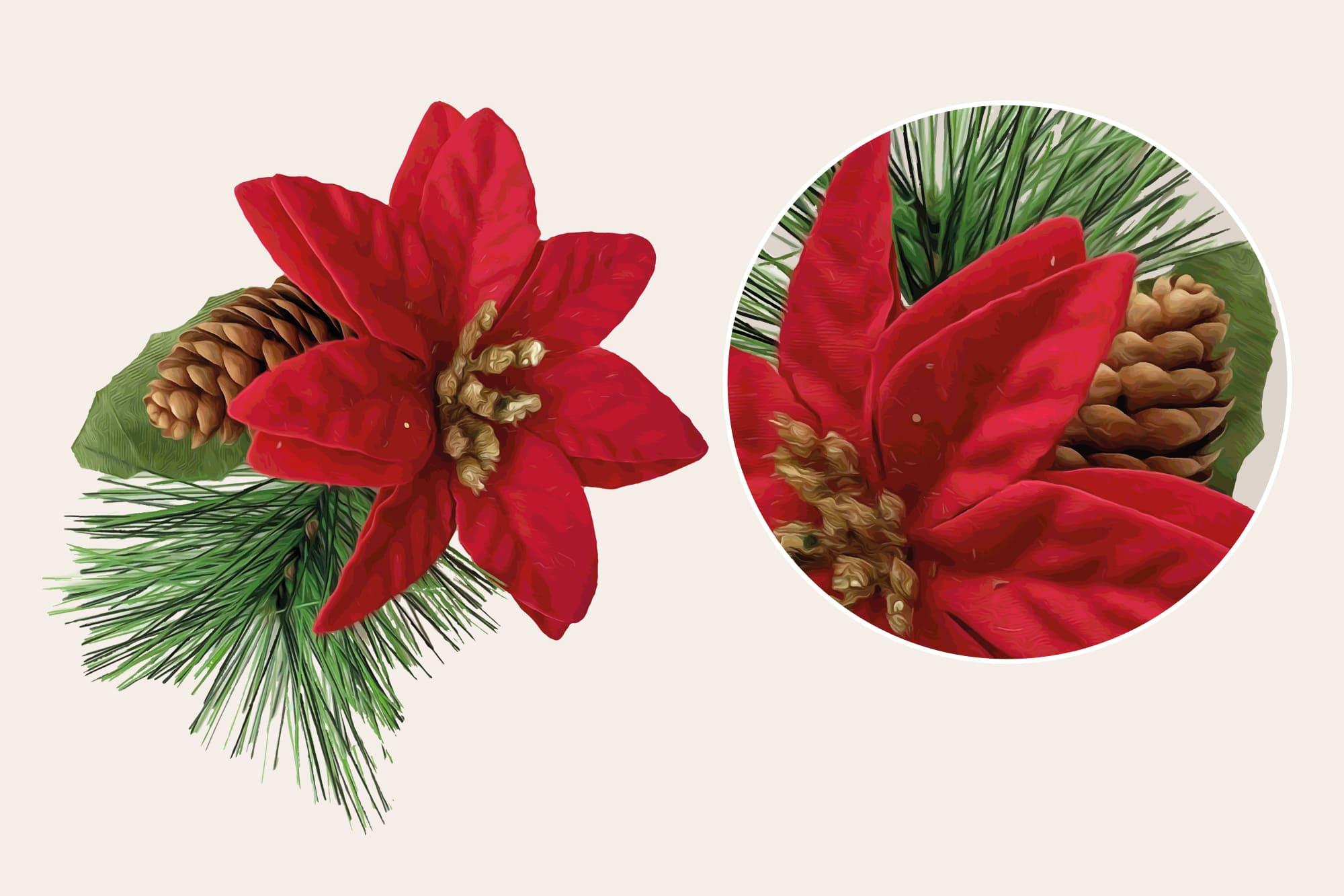 496 Christmas Illustrations: Christmas Vectors Bundle SVG, EPS, AI - Merry Christmas 3b