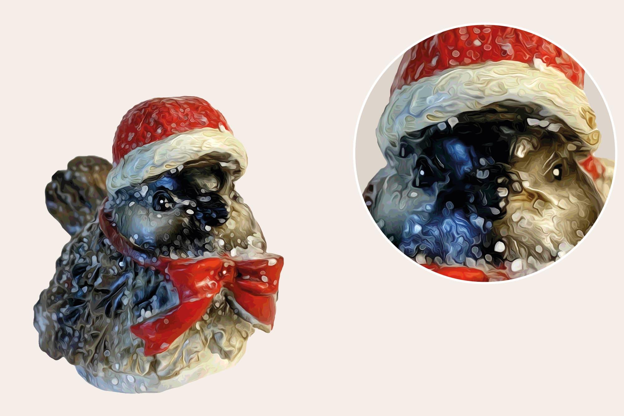 496 Christmas Illustrations: Christmas Vectors Bundle SVG, EPS, AI - Sparrow b