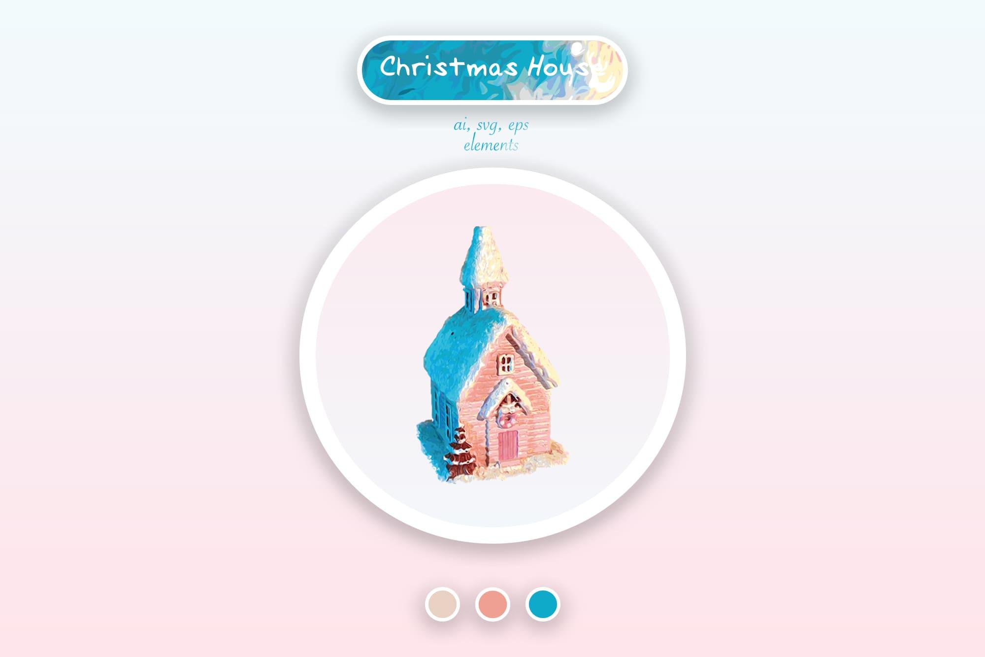 496 Christmas Illustrations: Christmas Vectors Bundle SVG, EPS, AI - Xmas time a