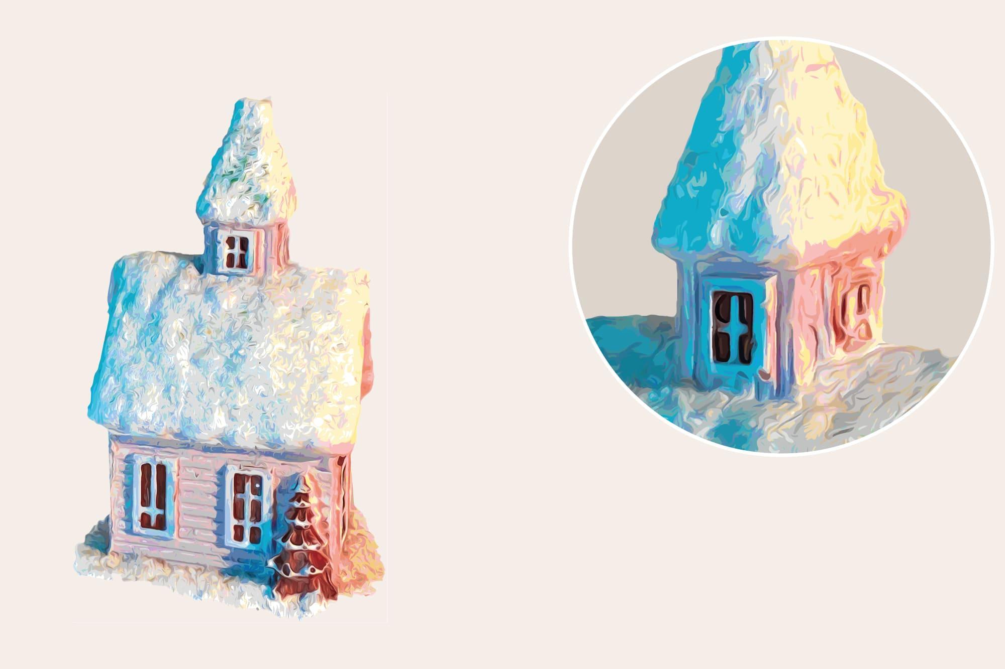 496 Christmas Illustrations: Christmas Vectors Bundle SVG, EPS, AI - Xmas time b