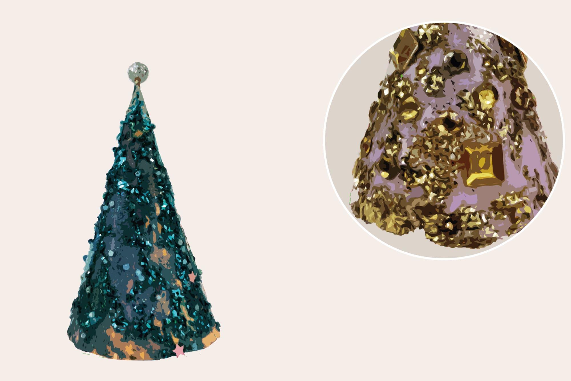 496 Christmas Illustrations: Christmas Vectors Bundle SVG, EPS, AI - Xmas trees b