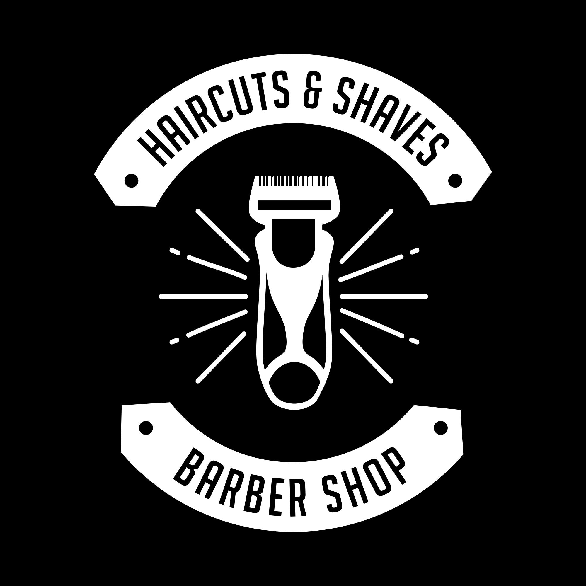 Vintage Barber Shop Logo PNG & EPS - barber02