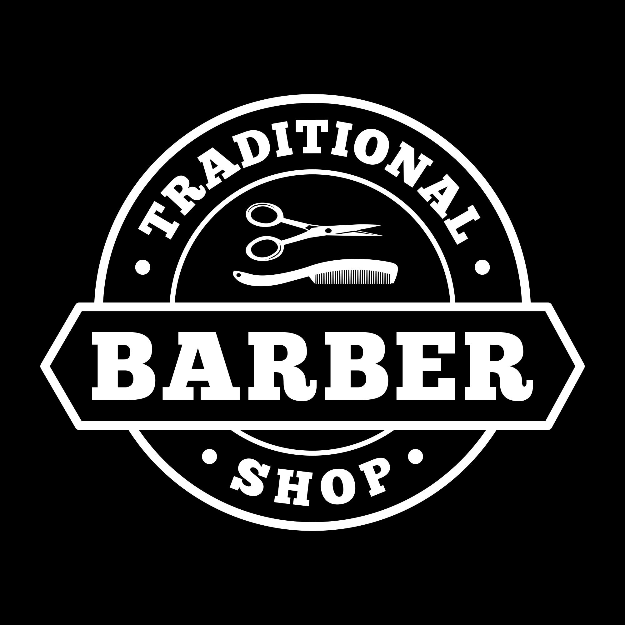 Vintage Barber Shop Logo PNG & EPS - barber04