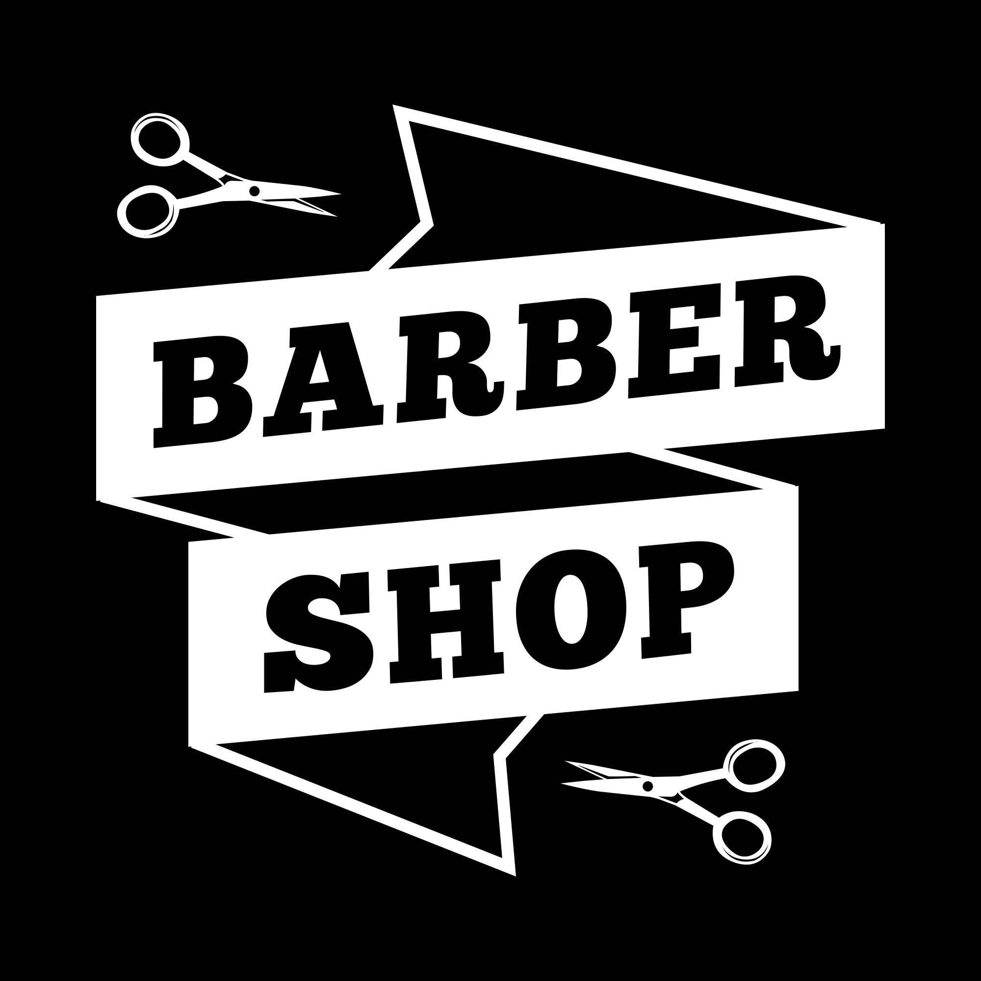 Vintage Barber Shop Logo PNG & EPS - barber06