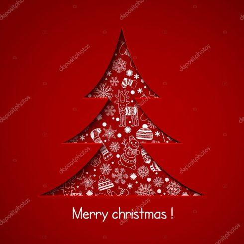 Author - depositphotos 33133623 stock illustration christmas tree 490x490