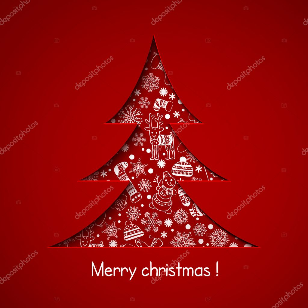 Christmas Stock Photos & Images. Photo Deal: 100 Royalty-free Photos & Vectors - $69! - depositphotos 33133623 stock illustration christmas tree