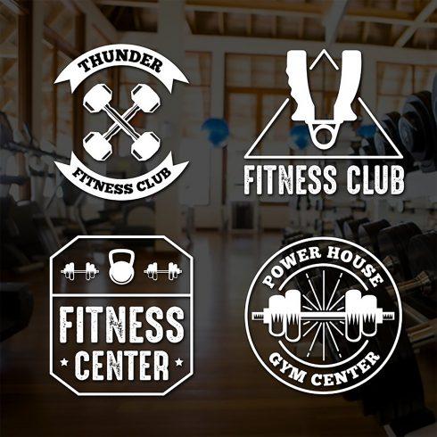 Fitness Logos: Fitness Vintage Badge & Logo - fitness 490x490