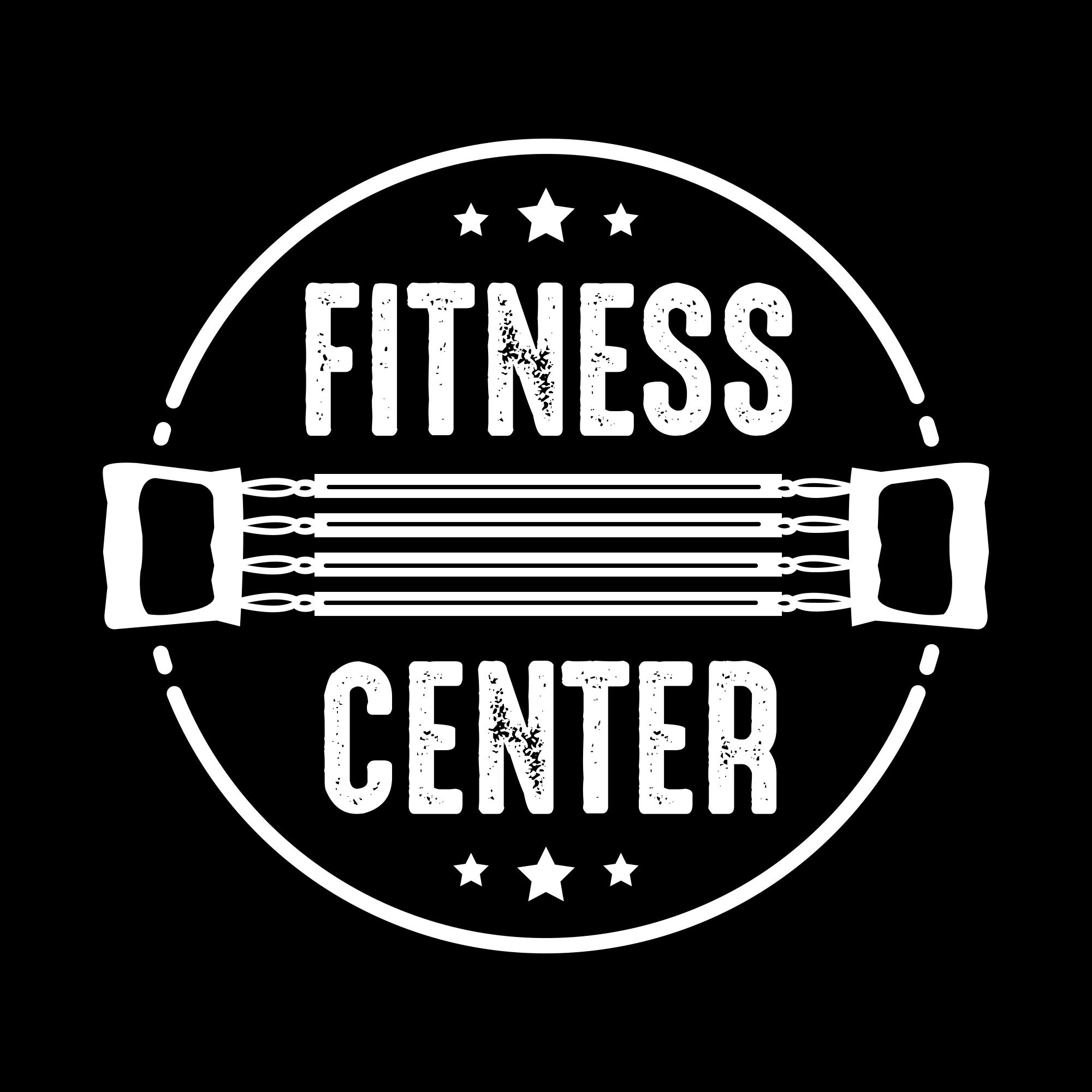Fitness Logos: Fitness Vintage Badge & Logo - fitness01