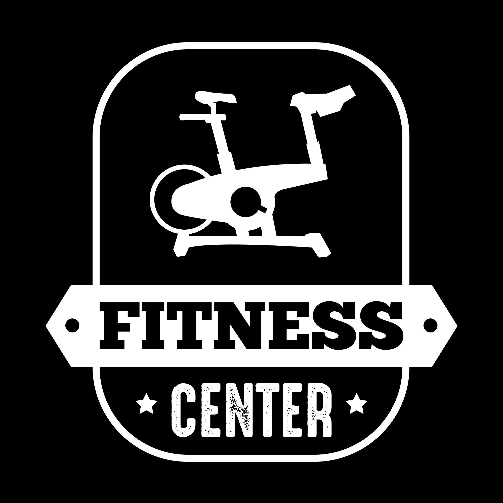 Fitness Logos: Fitness Vintage Badge & Logo - fitness04