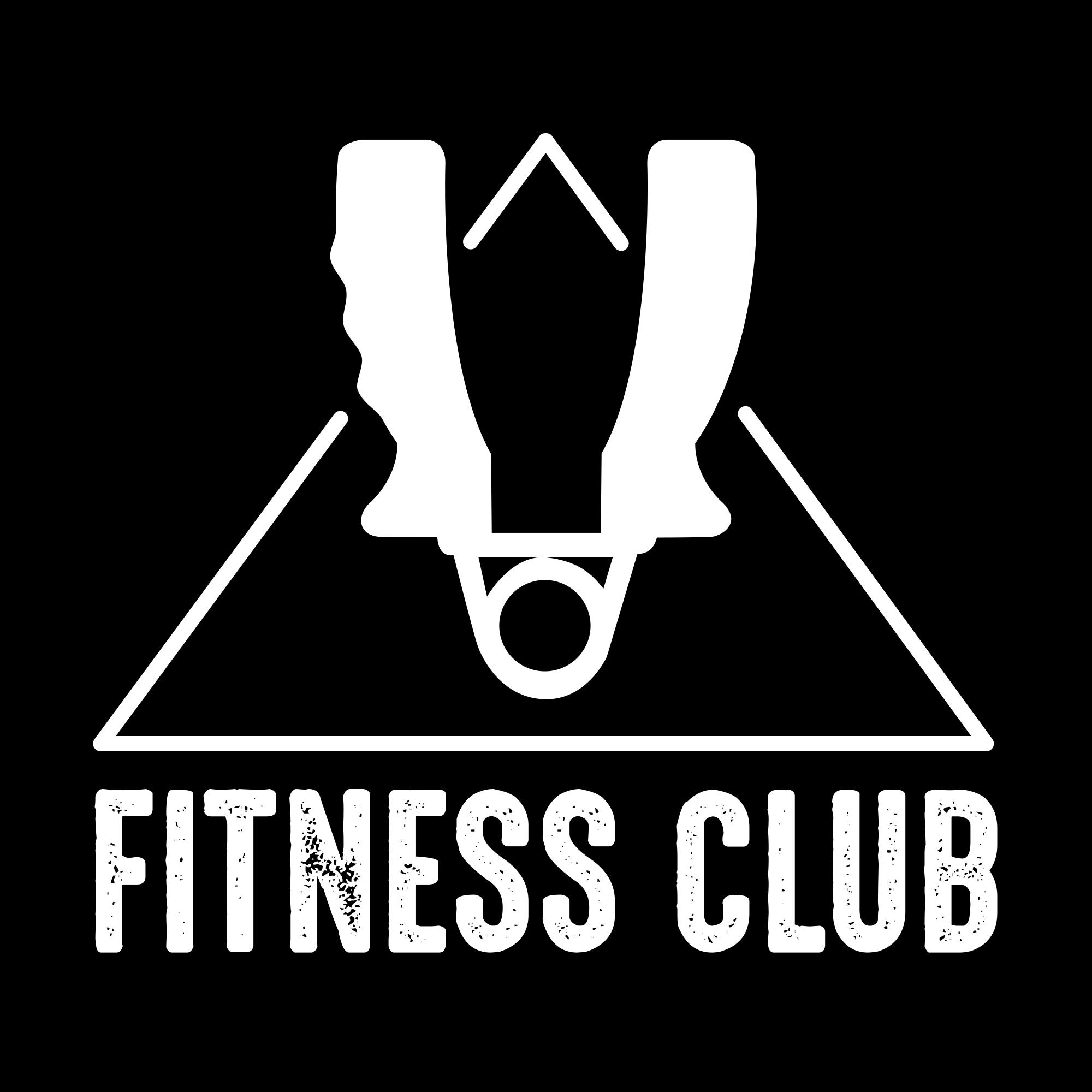Fitness Logos: Fitness Vintage Badge & Logo - fitness05