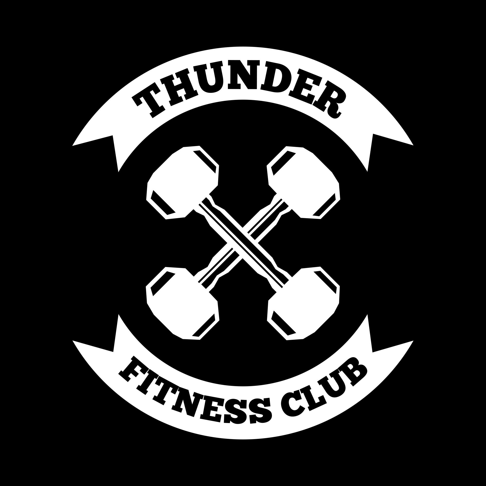 Fitness Logos: Fitness Vintage Badge & Logo - fitness06