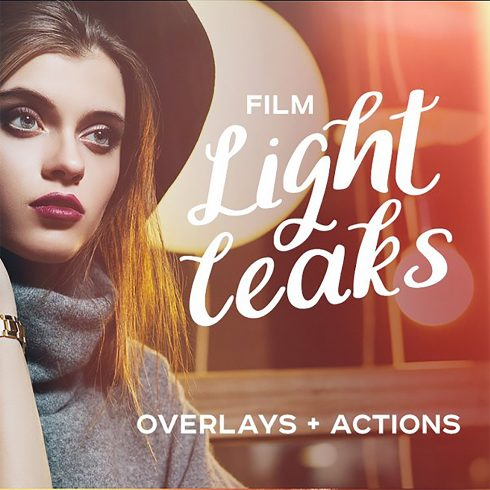 92 Film Light Leaks Overlays - leaks 490x490