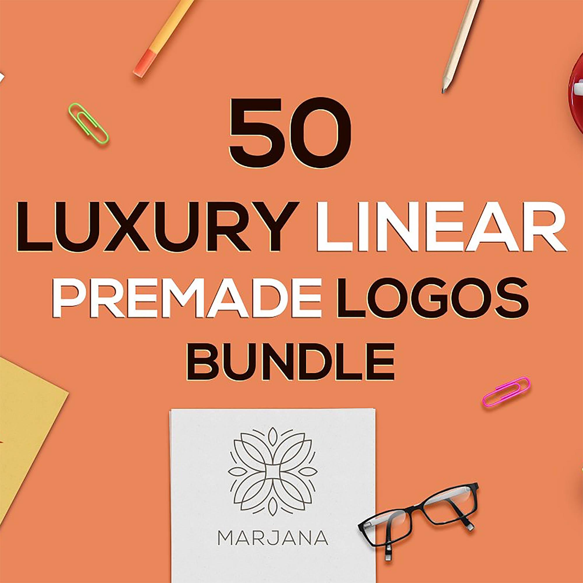 Luxury Logo Bundle main cover.