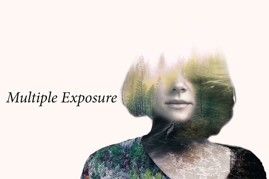 Multiple Exposure Photoshop Effect - p1 1