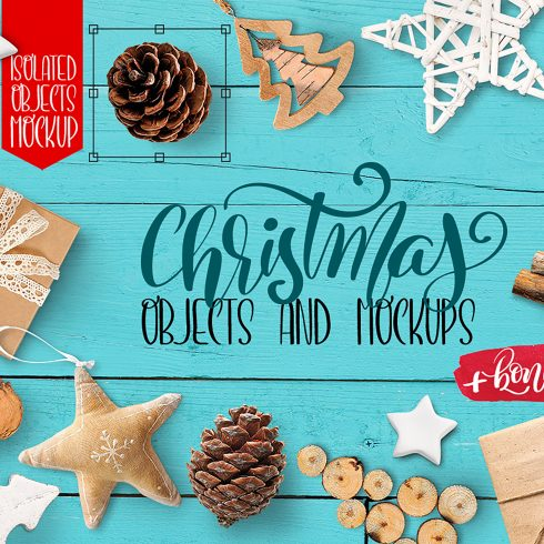 Christmas PNG: Isolated Objects, Mockups - title 1 1 490x490