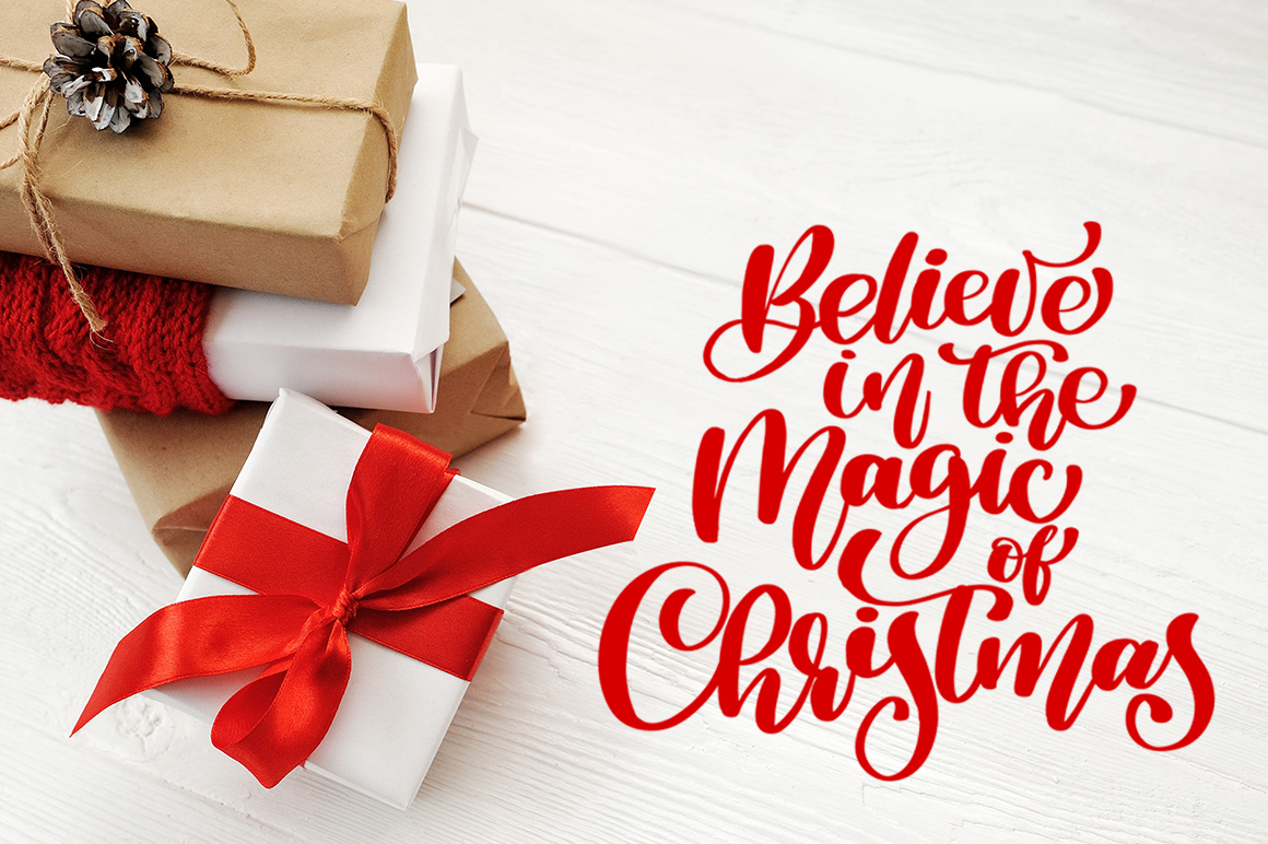 Christmas Cover Photo: 24 Christmas Gift Mock Up files - title 2 3