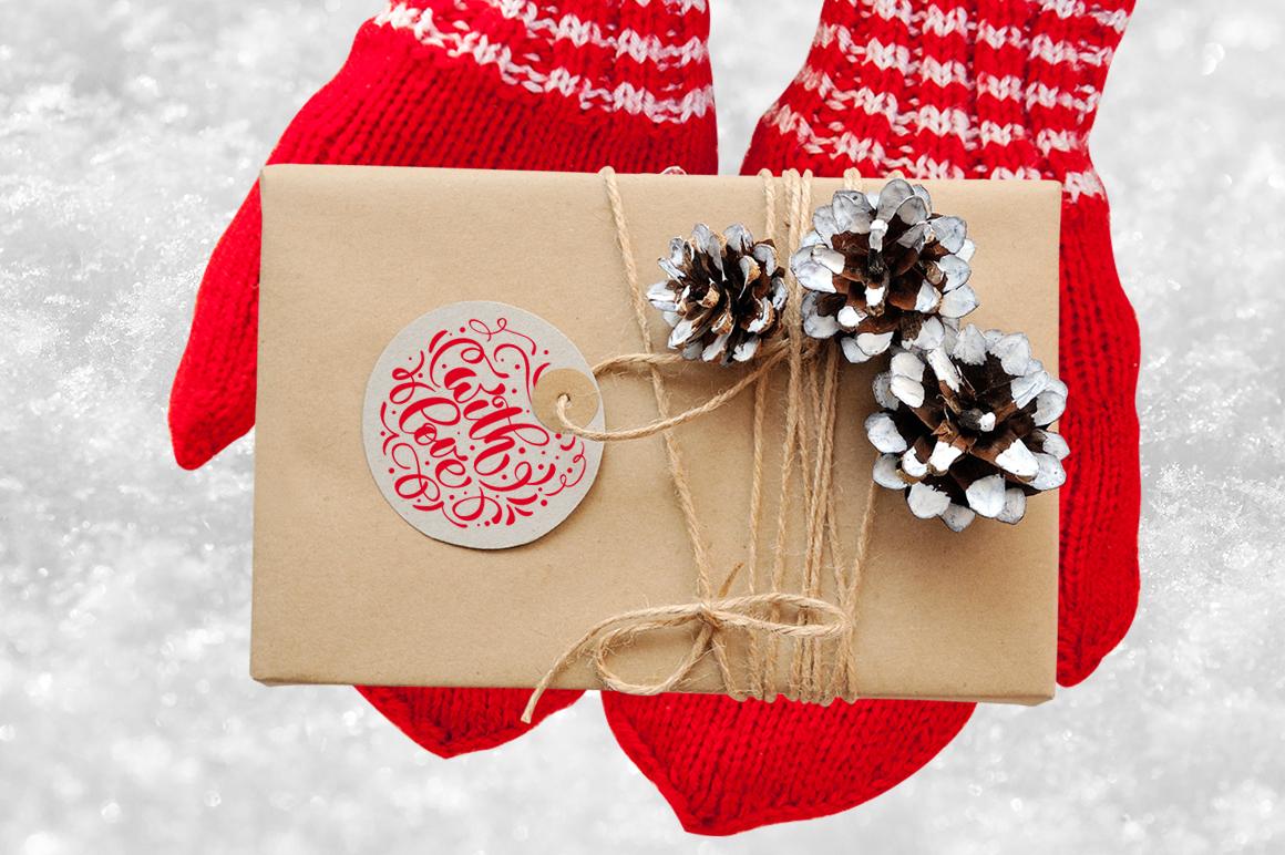 Isolated Gift Christmas Mock ups - title 3 4