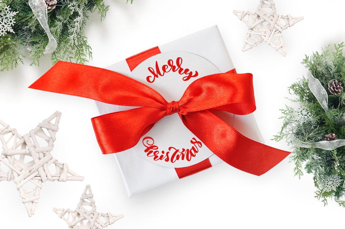 Isolated Gift Christmas Mock ups - title 4 3