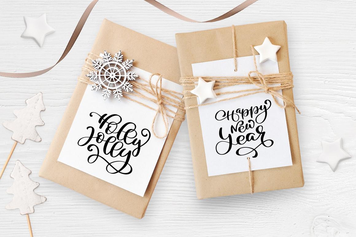 Isolated Gift Christmas Mock ups - title 5 3