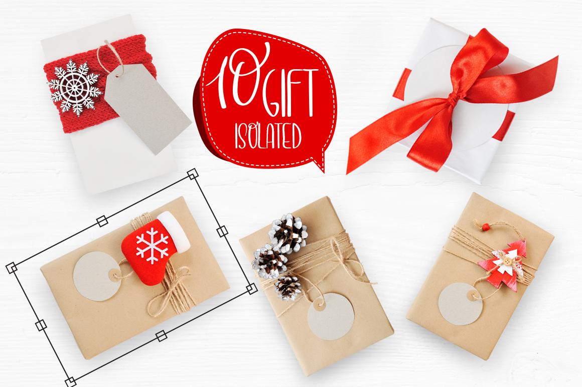 Isolated Gift Christmas Mock ups - title 6 3