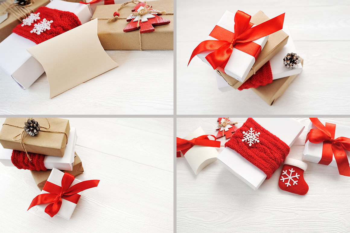 Christmas Cover Photo: 24 Christmas Gift Mock Up files - title 7 2