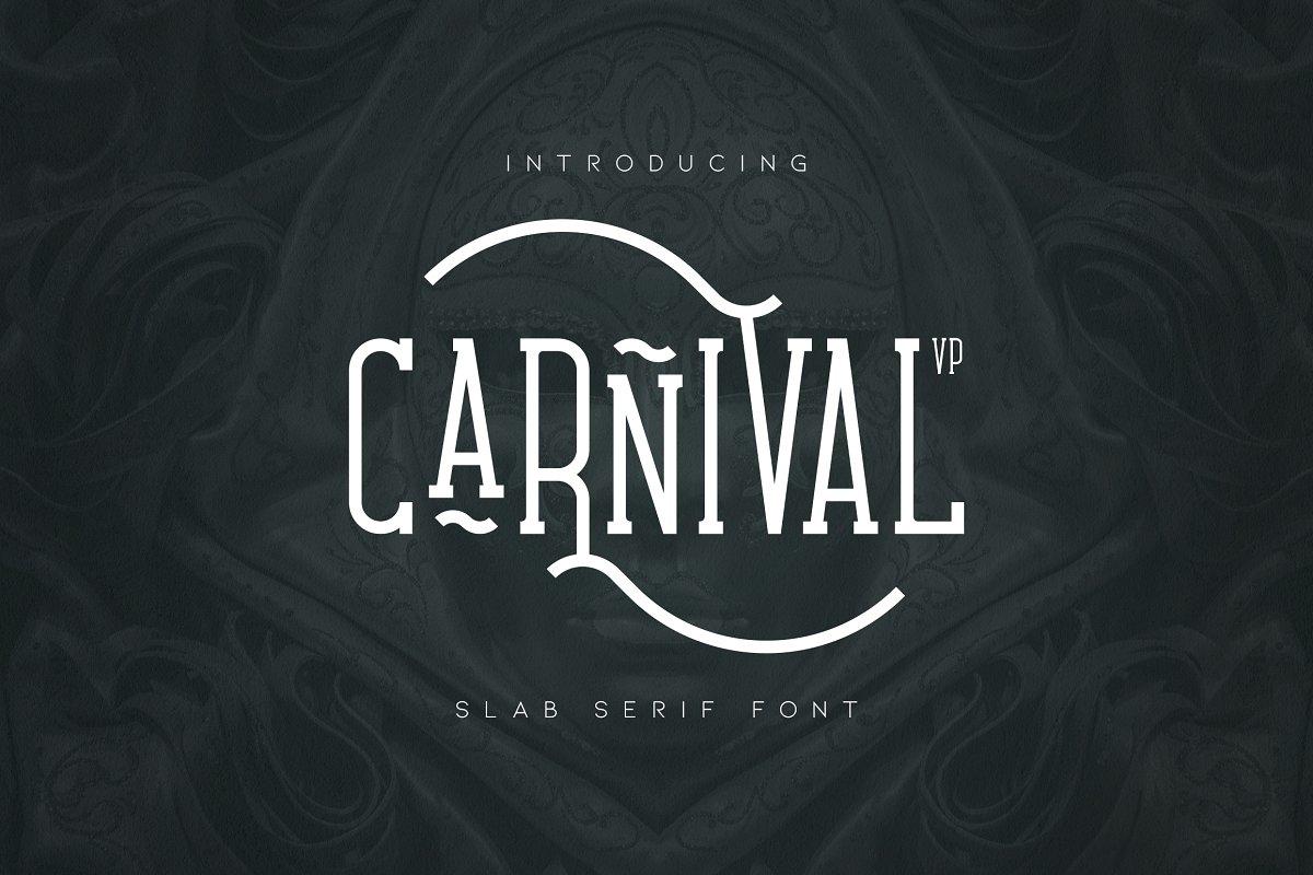 Carnival VP Slab Font - Latin & Cyrillic - 1