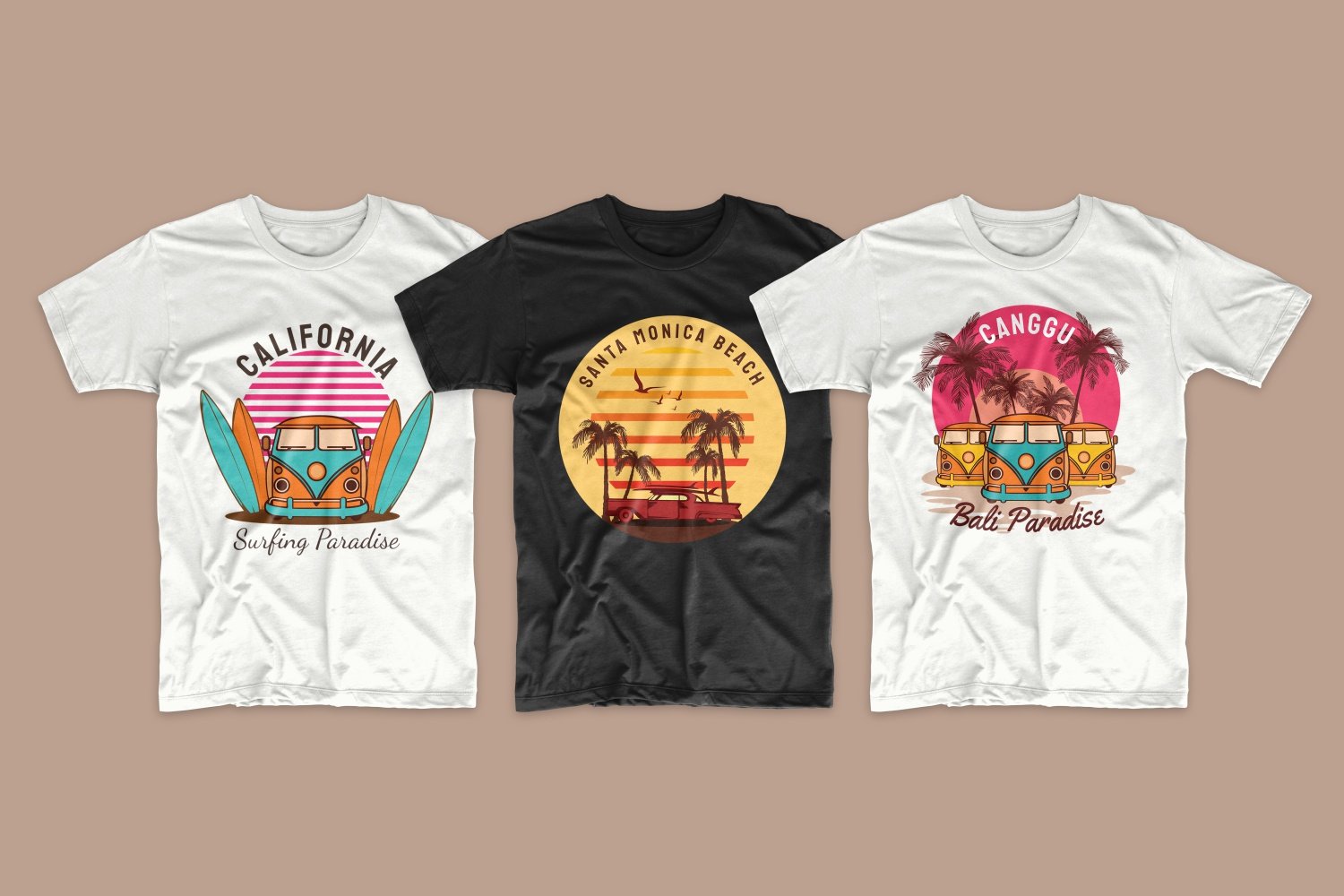 50 Surfing T-shirt Designs - 1 5