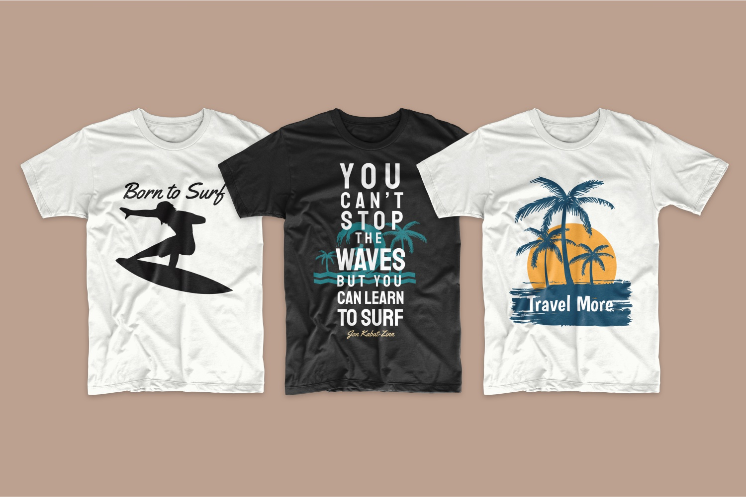 50 Surfing T-shirt Designs - 11 4