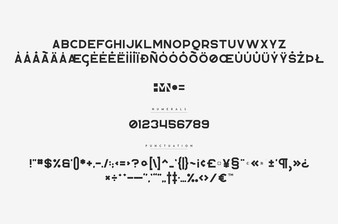 Blackpaper - 1st Negative Space Font - 12 1 2