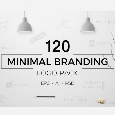 120 Minimal Branding Logo Pack - 12 2 490x490