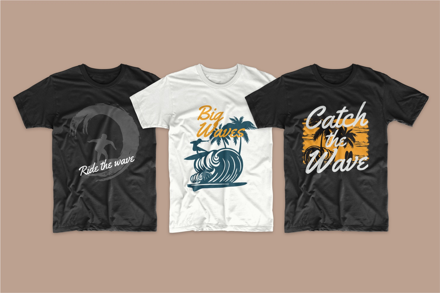 50 Surfing T-shirt Designs - 12 6
