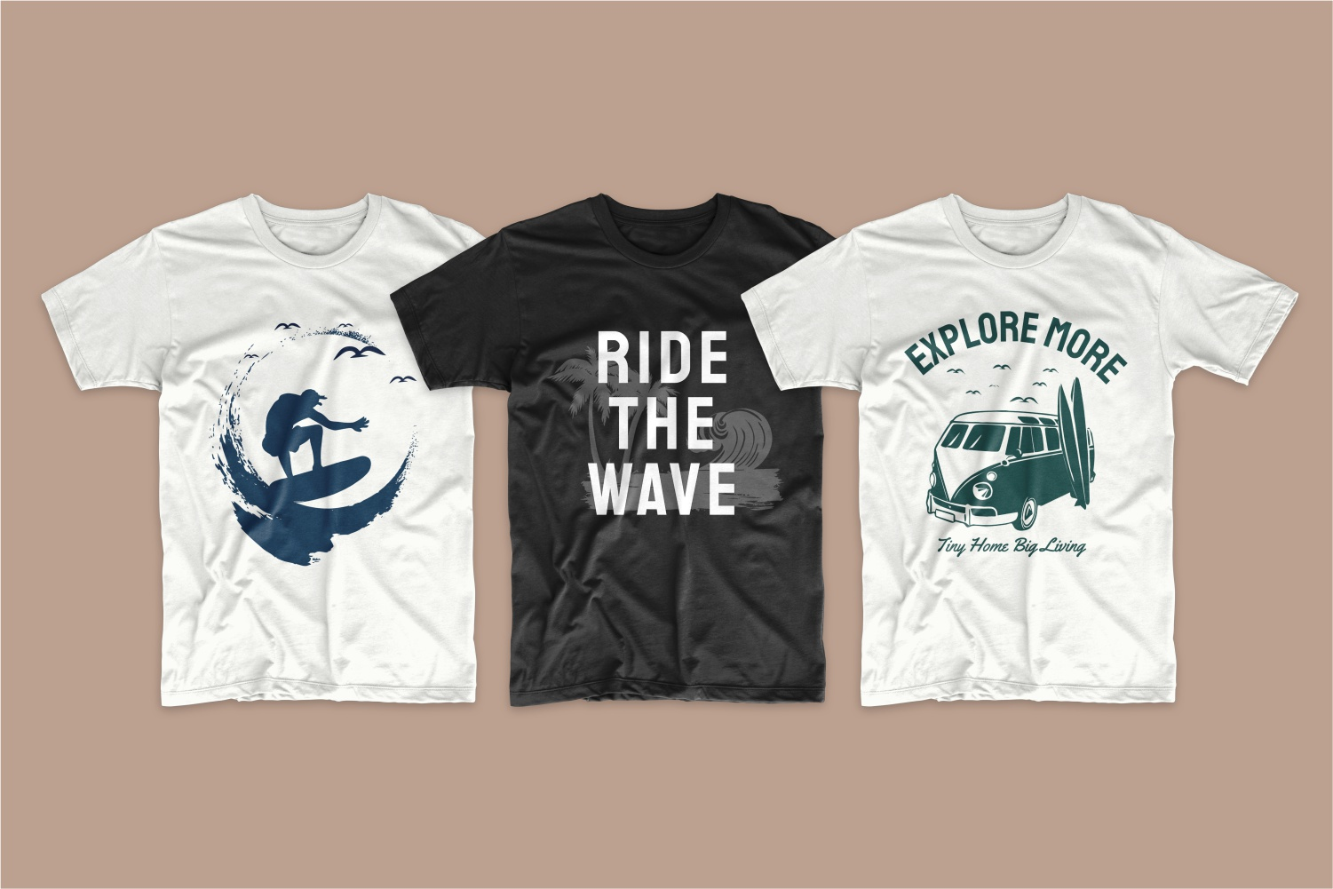 50 Surfing T-shirt Designs - 13 4