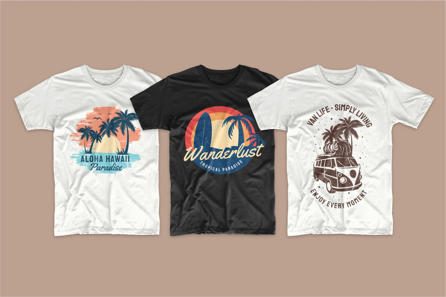 50 Surfing T-shirt Designs - 15 4