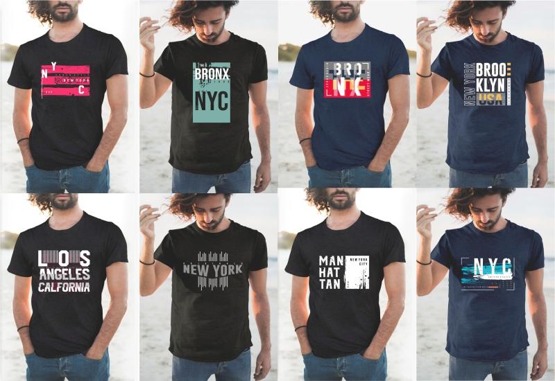 900+ Trending T-shirt Designs Mega Bundle - 15
