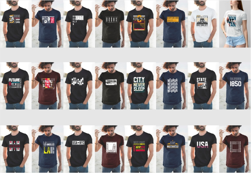 900+ Trending T-shirt Designs Mega Bundle - 16