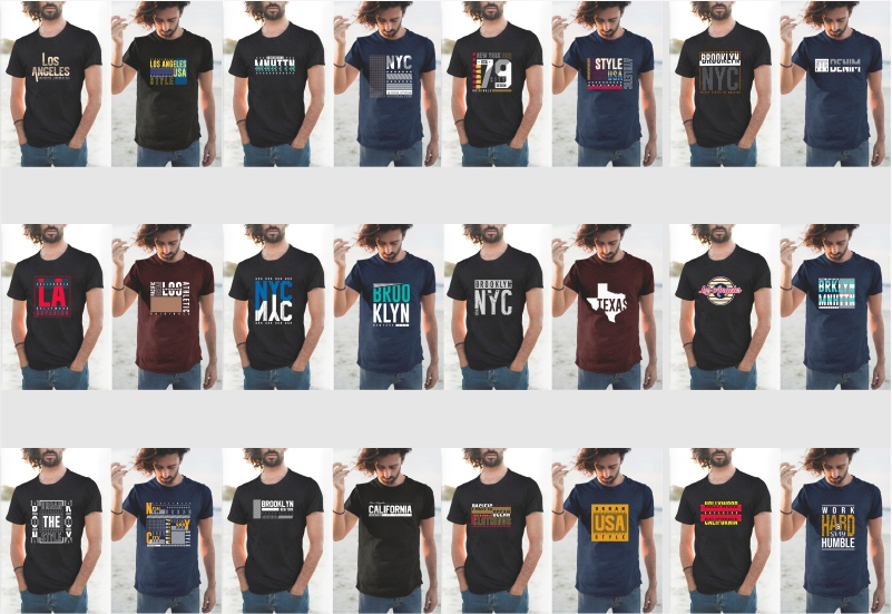900+ Trending T-shirt Designs Mega Bundle - 17