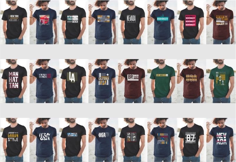 900+ Trending T-shirt Designs Mega Bundle - 18
