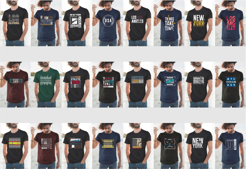 900+ Trending T-shirt Designs Mega Bundle - 19