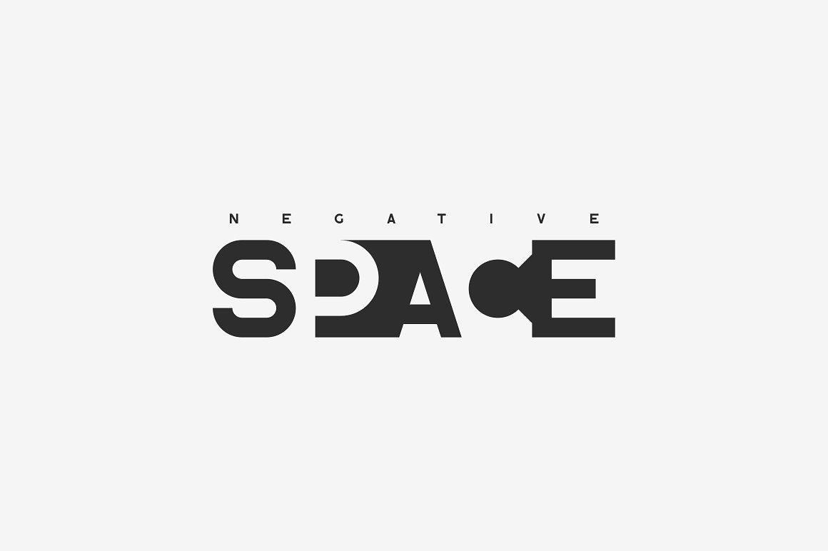 Blackpaper - 1st Negative Space Font - 2 1 4